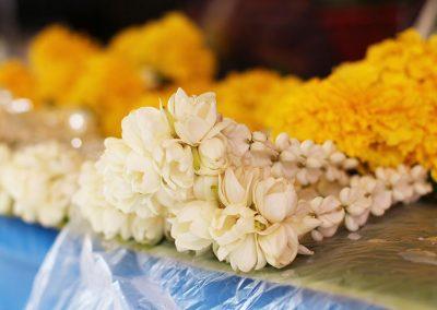 Malai, flower offering