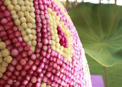 Flower offering in Thailand